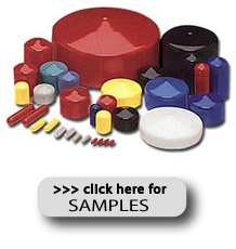 PVC Caps - click here for samples