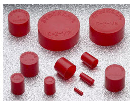 """100-3/"""" Plastic End Cap  For Round Mailing Tube"""