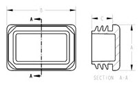 Rectangular Tubing Inserts - Diagram