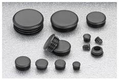 Round Tubing Inserts Plastic End Caps Stockcap